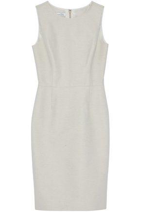 OSCAR DE LA RENTA Linen-twill dress