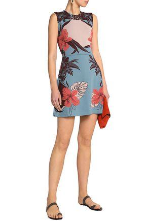 VALENTINO Jacquard mini dress