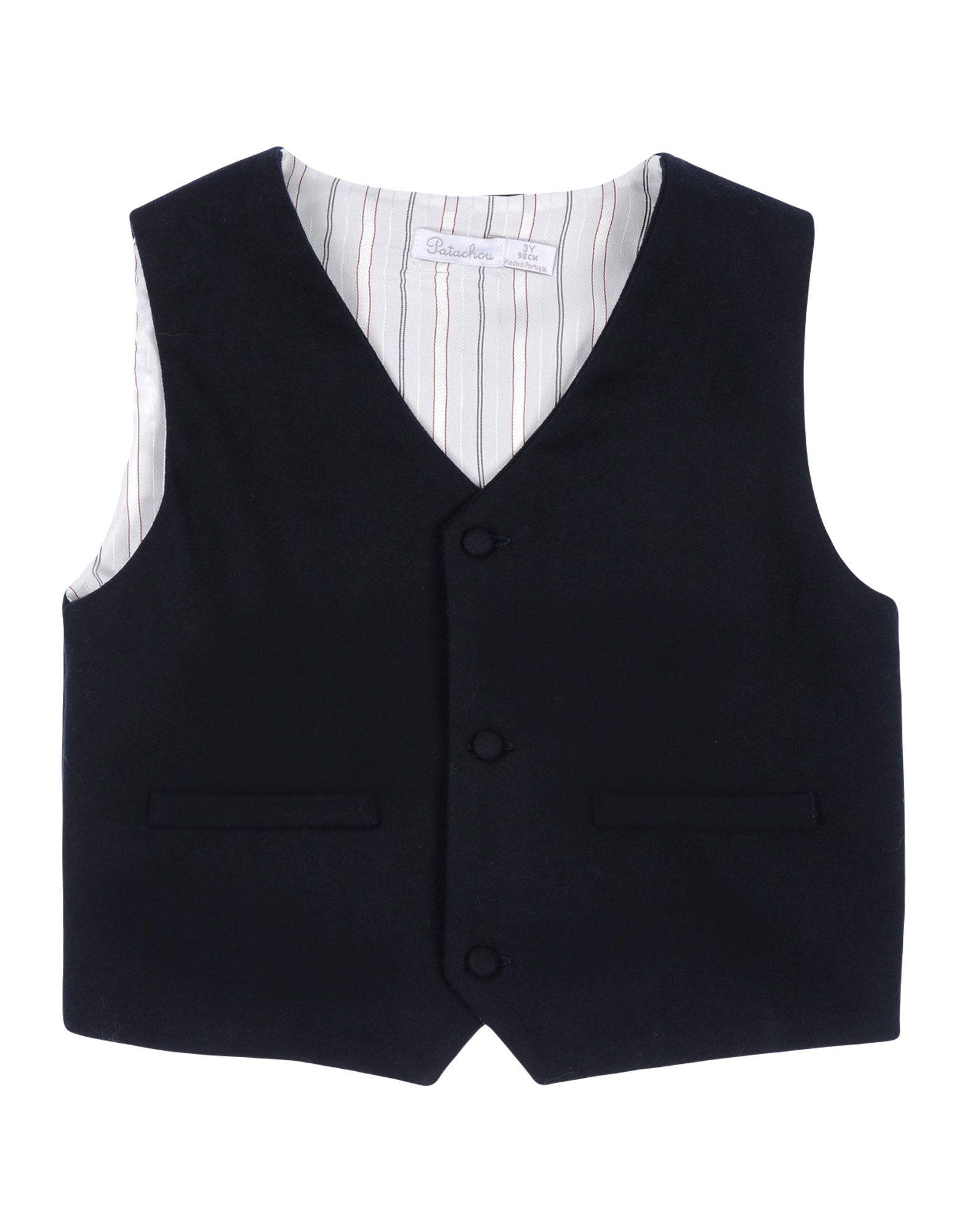 PATACHOU Vest in Dark Blue