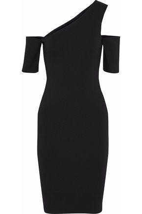MICHELLE MASON Cutout stretch-cady dress