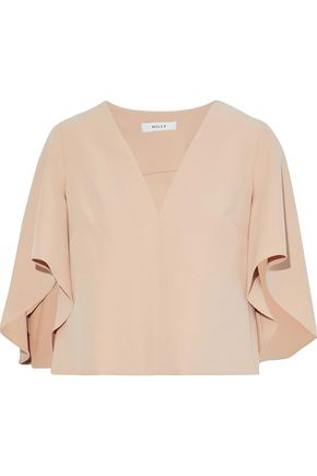 MILLY Cascade Beetle cady top