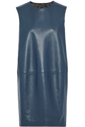 LANVIN Leather mini dress