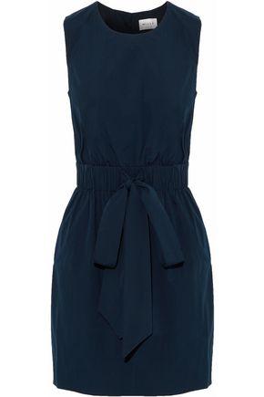MILLY Ana stretch-cotton mini dress