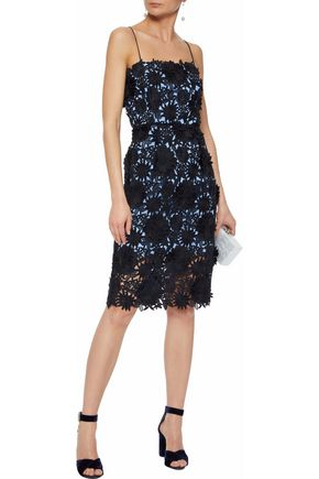 MILLY Guipure lace dress