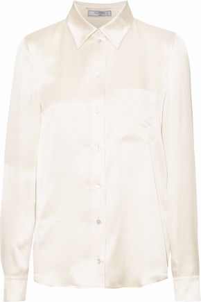 LANVIN Silk-satin shirt
