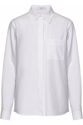 LANVIN Cotton-poplin shirt