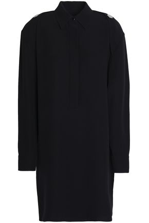 ALEXANDER WANG Open-back silk crepe de chine shirt