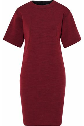 LANVIN Marled wool-blend dress