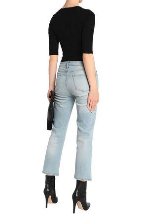 LNA Camino ribbed-knit bodysuit
