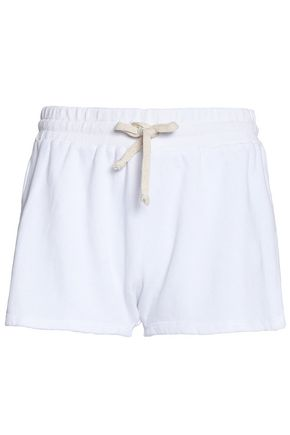 LNA French cotton-terry shorts