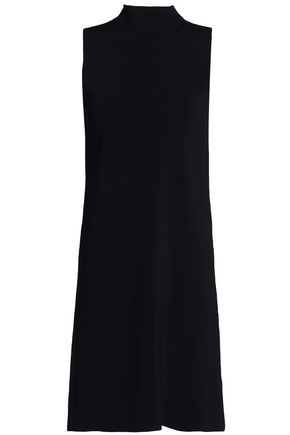 SOLACE LONDON Cutout stretch-ponte mini dress