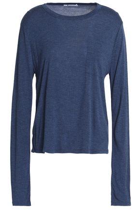 T by ALEXANDER WANG Mélange jersey top