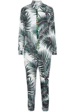 WEEKEND MAX MARA Ariella printed silk jumpsuit