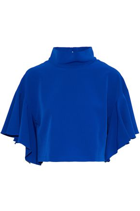 MILLY Ruffled cady top
