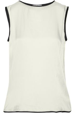 MAX MARA Clipper silk-jersey top