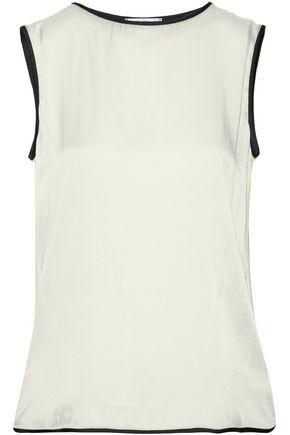MAX MARA Clipper silk-jersey top