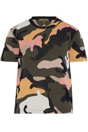 VALENTINO Jacquard-knit T-shirt