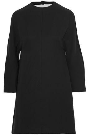 VALENTINO Flared silk-crepe mini dress