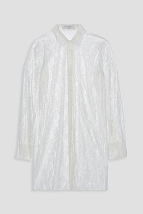 VALENTINO Silk-lace shirt