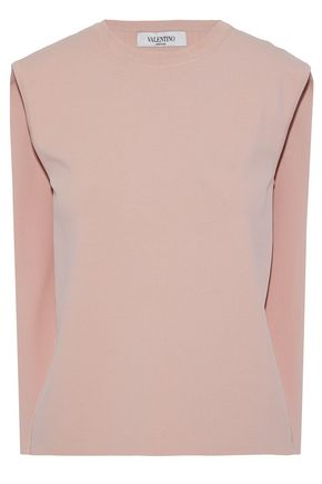 VALENTINO Stretch-knit top