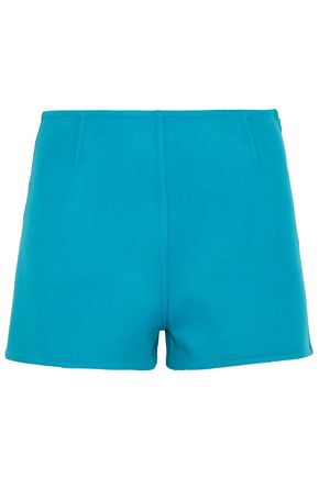 VALENTINO Wool and cashmere-blend shorts