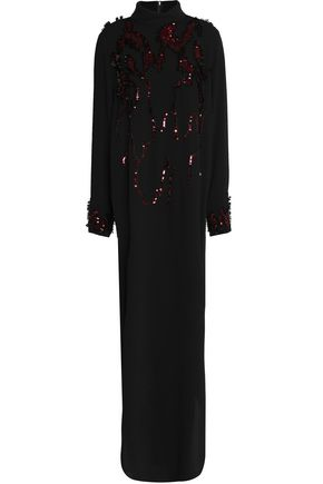 BY MALENE BIRGER Embellished crepe gown