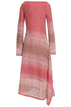 ANCIENT GREEK SANDALS x PETER PILOTTO Dégradé open-knit midi dress
