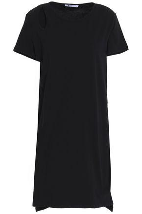 T by ALEXANDER WANG Cutout cotton-jersey mini dress