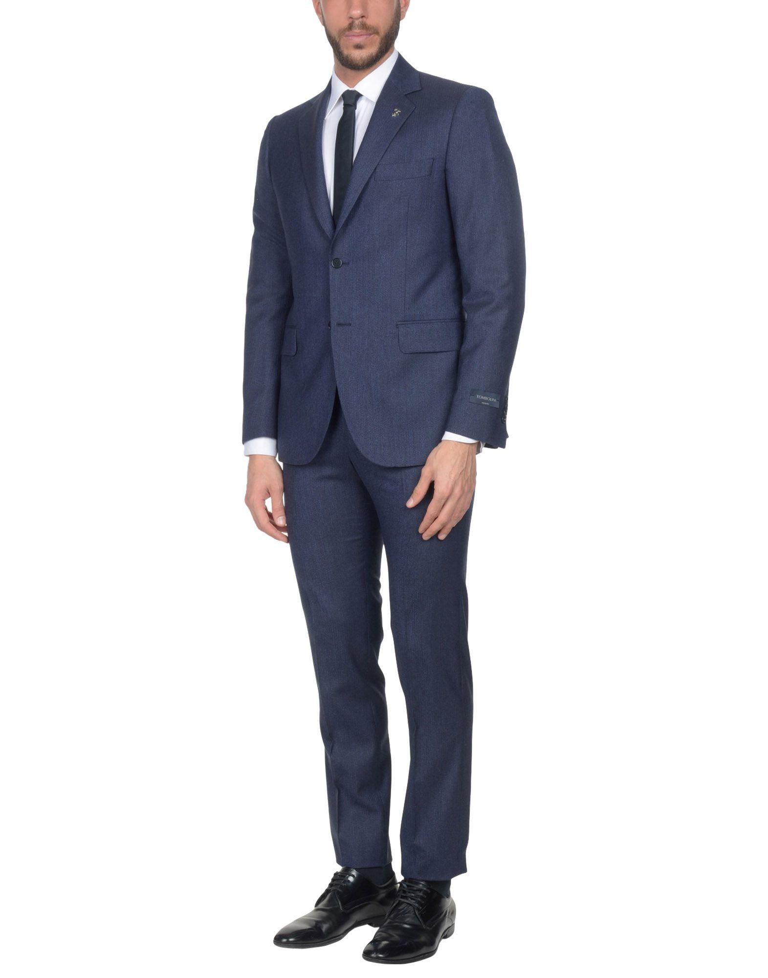 TOMBOLINI Suits in Dark Blue