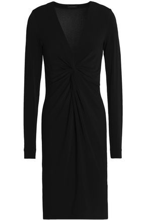 BY MALENE BIRGER V-neck sheath with stretch fabric