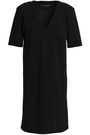 BY MALENE BIRGER Mini dress with short sleeves bottom side slits