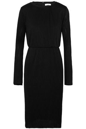 MAX MARA Xiria plissé-jersey dress