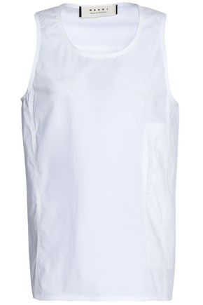 MARNI Cotton-poplin top