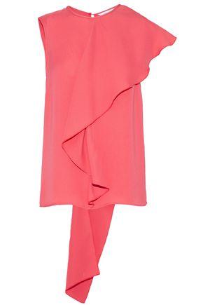 MAX MARA Magda draped ruffled silk top