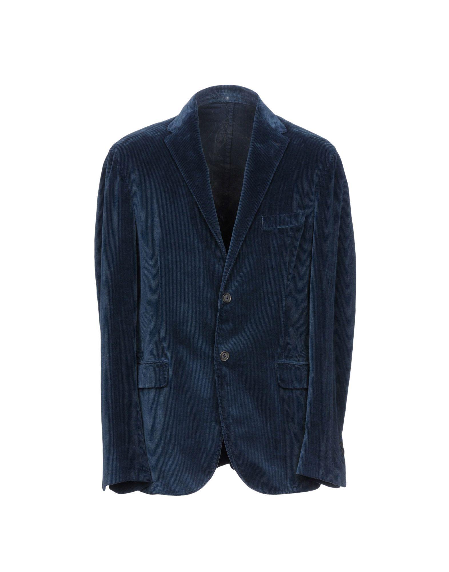 BREUER Blazer in Slate Blue