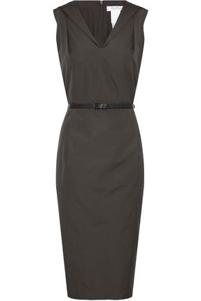MAX MARA Dattero belted cotton dress