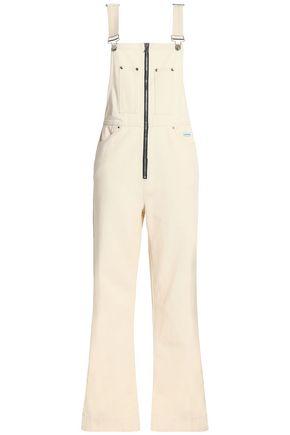 ALEXA CHUNG Denim wide-leg overalls