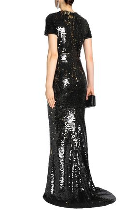 LANVIN Sequined tulle gown