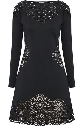 TEMPERLEY LONDON Sami laser-cut neoprene dress