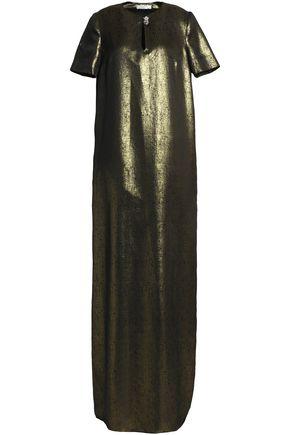LANVIN Metallic jaquard gown