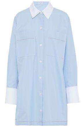 SONIA RYKIEL Cotton-poplin mini shirt dress