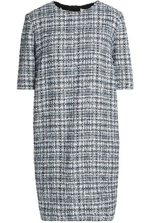 LANVIN Metallic tweed mini dress