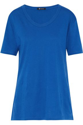 T by ALEXANDER WANG Slub cotton-jersey T-shirt