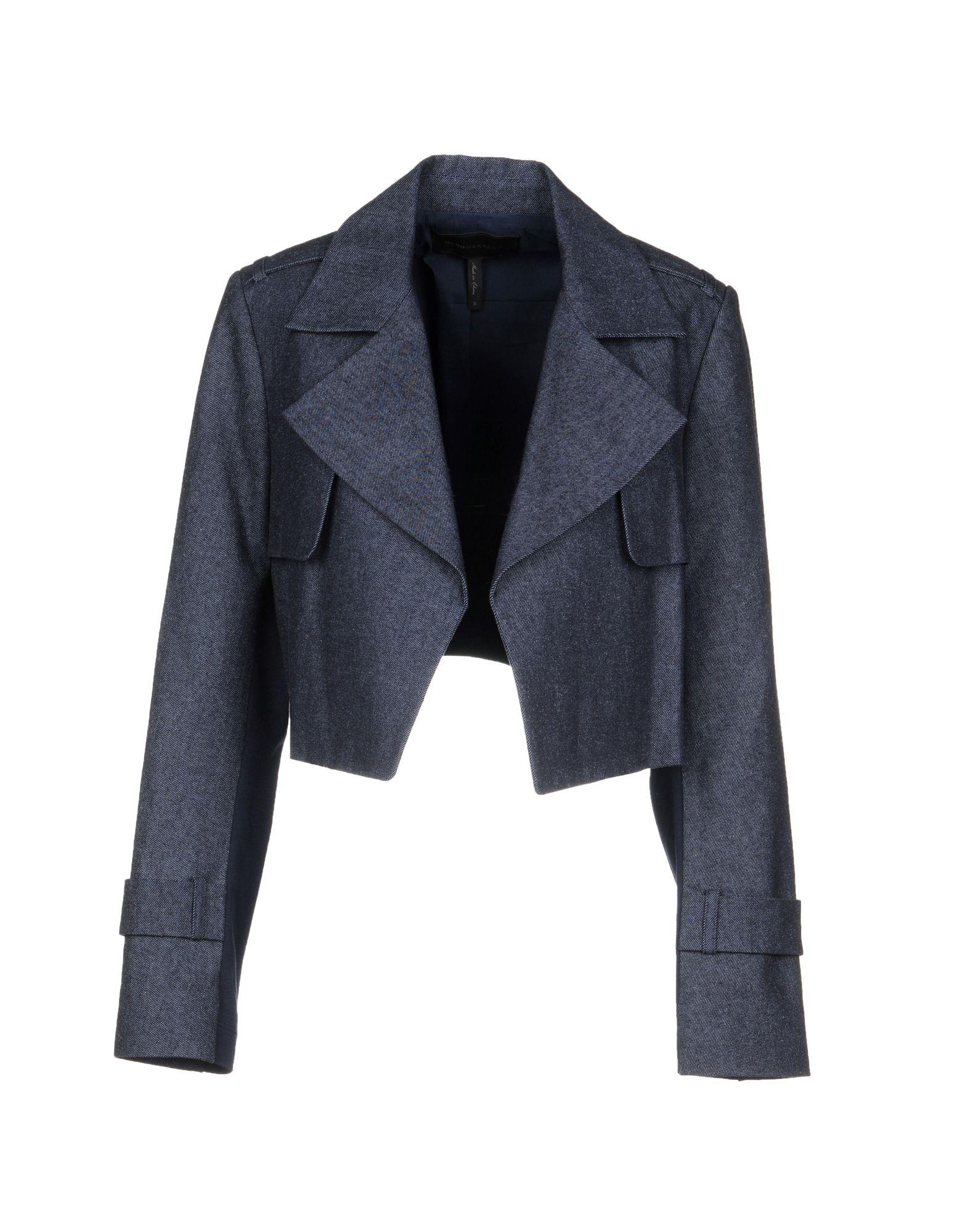 BCBGMAXAZRIA Джинсовая верхняя одежда цена 2017