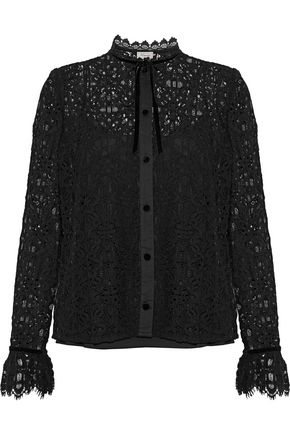 TEMPERLEY LONDON Eclipse corded lace shirt