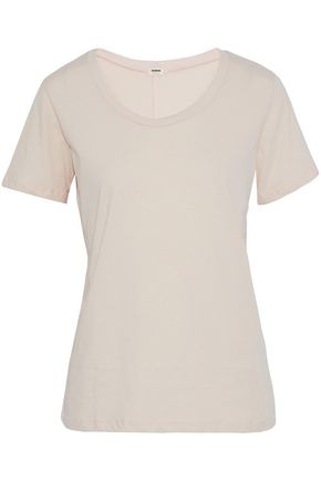 MONROW Cotton-jersey T-shirt
