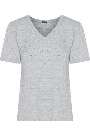 MONROW Mélange jersey top