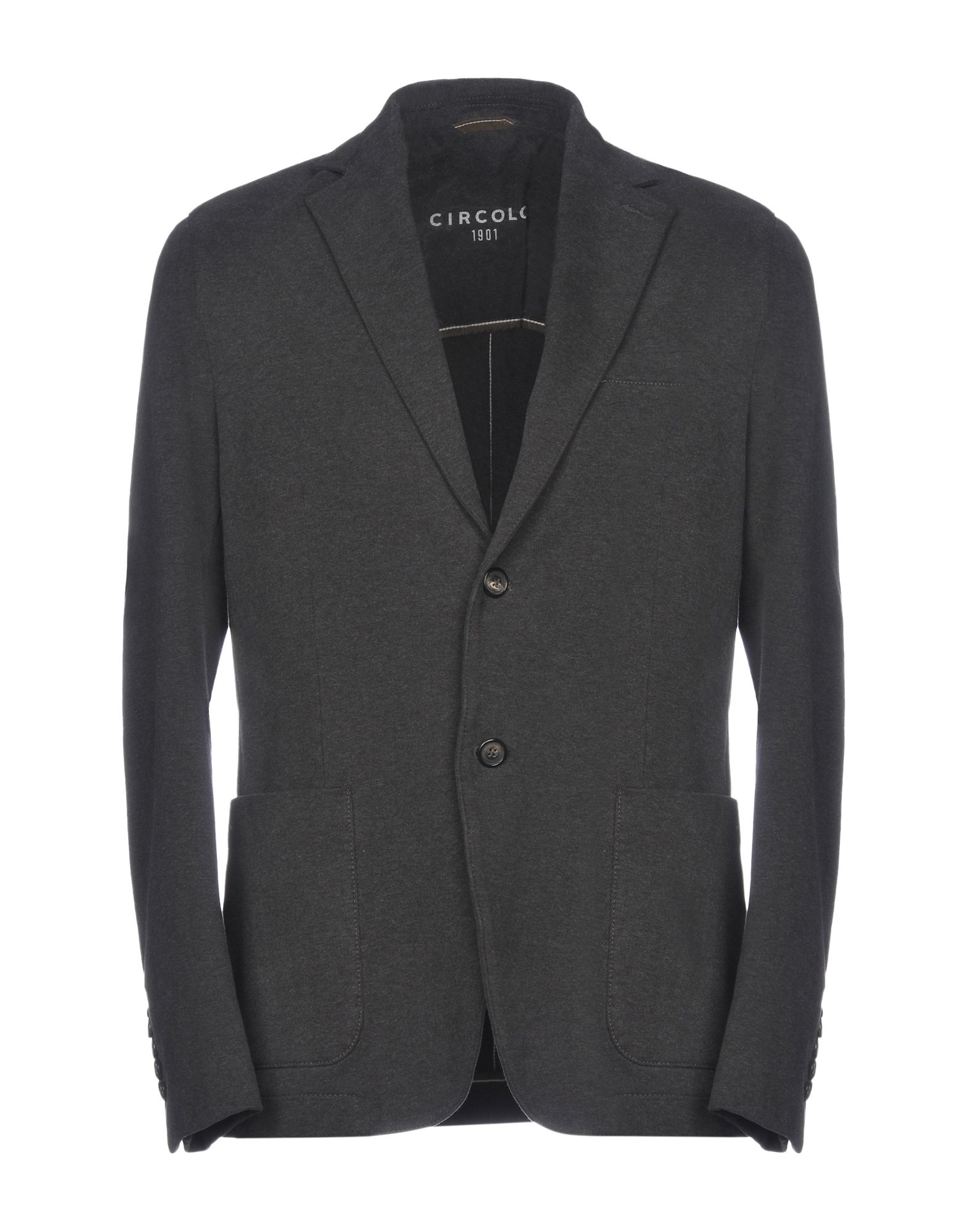CIRCOLO Blazer in Steel Grey