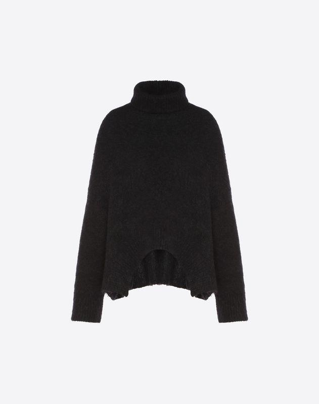 羊毛、马海毛混纺针织衫