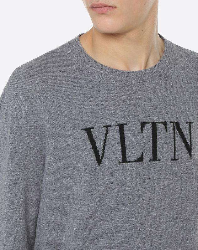 Jersey con intarsia VLTN